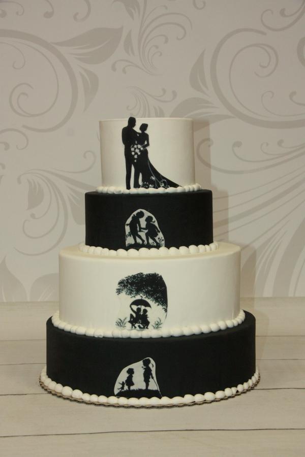 Tort weselny Para Młoda