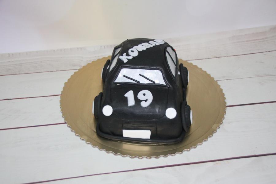 Dziecięcy tort przestrzenny Samochód 3D